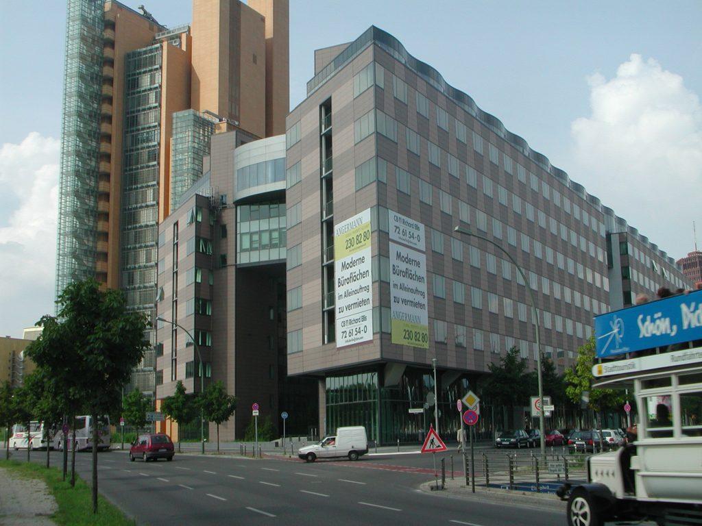 Zentrale der Berliner Volksbank Bürogebäude Potsdamer Platz, Berlin