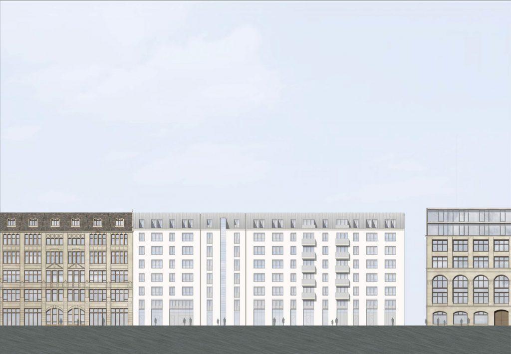 Wohngebäude, Mietwohnungen Wallstraße 17, Berlin