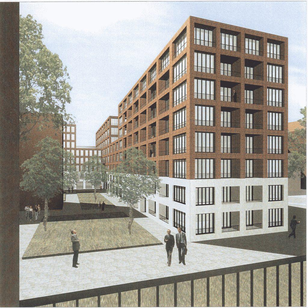 Büro, Hotel, Wohnen Zimmerstraße 92-94, Berlin