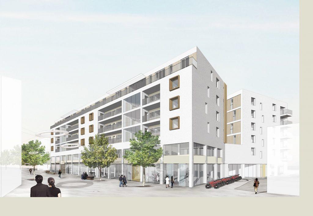 Wohnen, Handel, Büro Bahnhofstraße, Böblingen