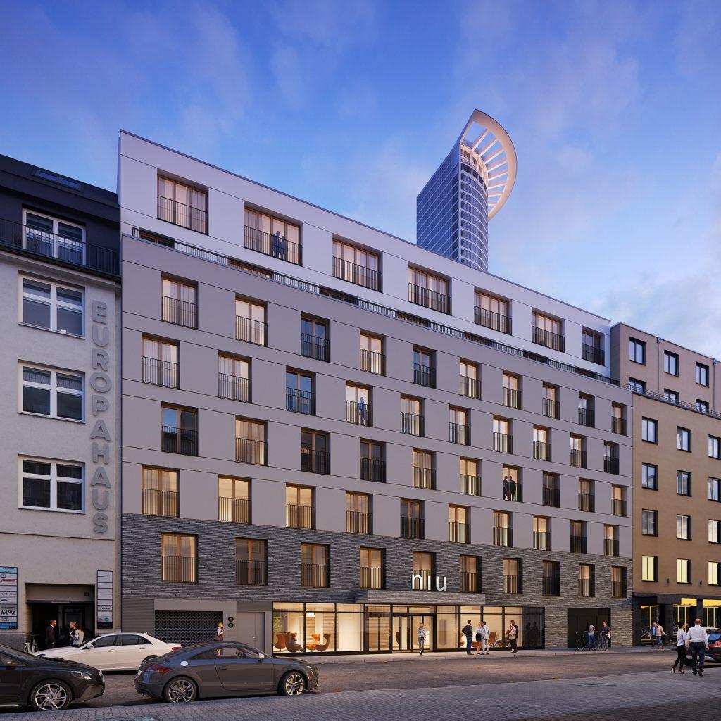 Niu-Charly-Hotel Hotelentwicklung Niddastraße, Frankfurt am Main