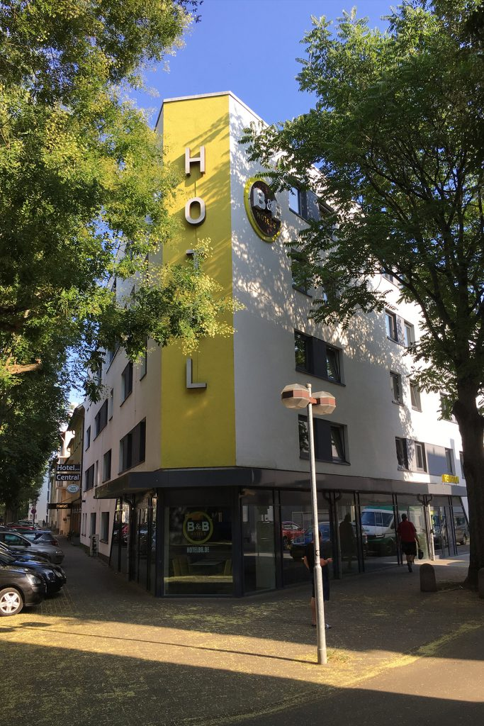 B&B Hotel Hotelentwicklung Mozartstraße, Heilbronn